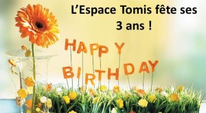 Espace Tomis Ath fête ses 3 ans
